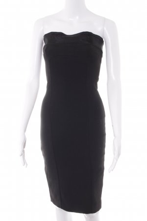 Zara Basic Minikleid schwarz Party-Look