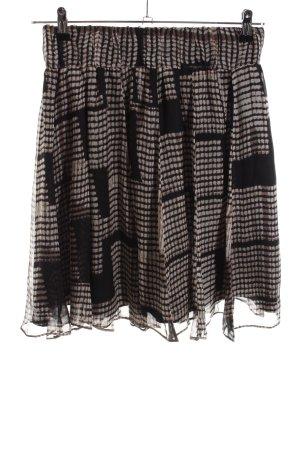 Zara Basic Mini rok geruite print casual uitstraling