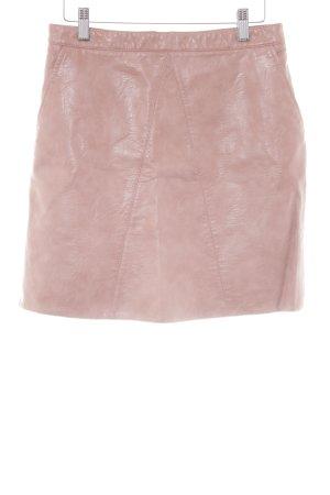 Zara Basic Minirock altrosa-nude Casual-Look