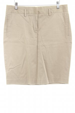 Zara Basic Minirock beige Business-Look