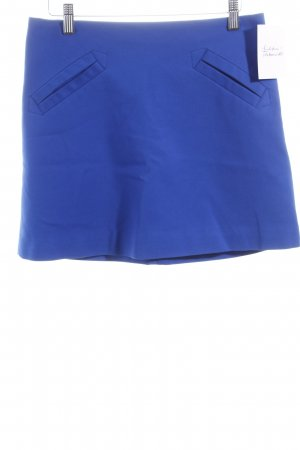 Zara Basic Minirock blau Casual-Look