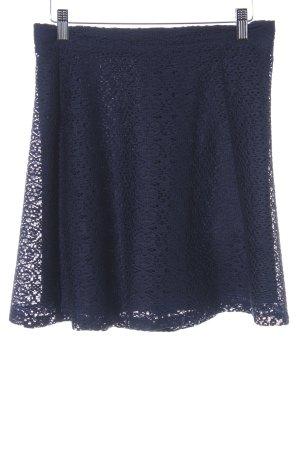 Zara Basic Minirock blau schlichter Stil