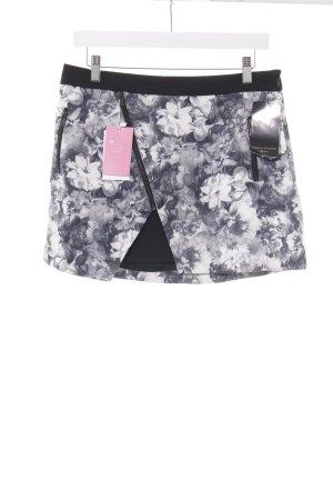 Zara Basic Minirock Blumenmuster Romantik-Look