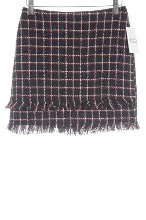 Zara Basic Minirock Karomuster minimalistischer Stil