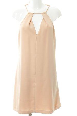 Zara Basic Neckholderkleid apricot Elegant