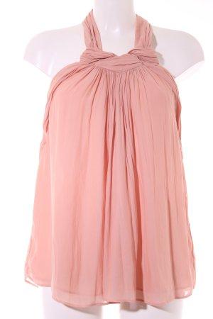 Zara Basic Neckholdertop apricot Elegant
