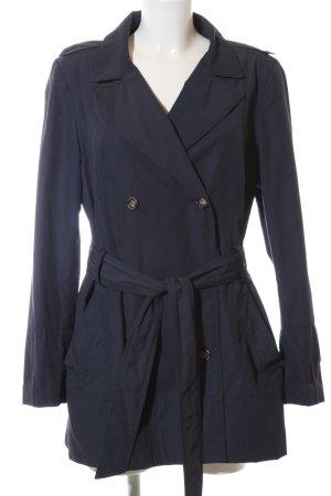 Zara Basic Outdoor Jacket blue business style