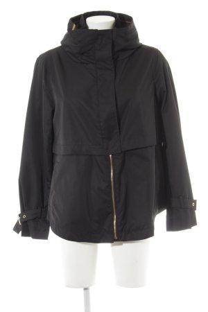 Zara Basic Outdoor Jacket black casual look
