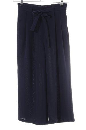 Zara Basic Palazzo Pants black casual look