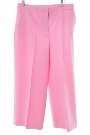 Zara Basic Pallazzobroek roze extravagante stijl