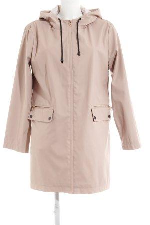 Zara Basic Parka altrosa Street-Fashion-Look