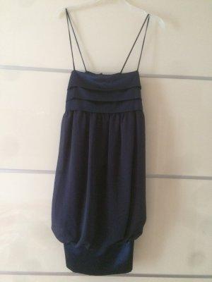 *Zara Basic* Party-Kleid in Marine-blau