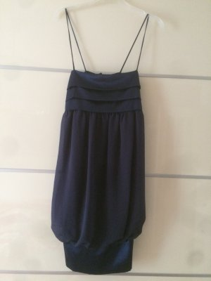 *Zara Basic* Party-Kleid in Marine-blau