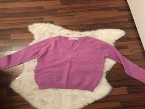 Zara Basic Pullover M 38 lila