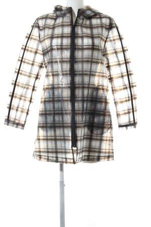 Zara Basic Impermeabile motivo a quadri stile casual