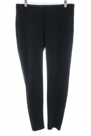 Zara Basic Riding Trousers black casual look