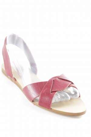 Zara Basic Strapped Sandals multicolored casual look