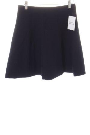 Zara Basic Rock dunkelblau Casual-Look