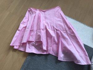 Zara Basic Rock rosa asymmetrisch Minirock S Highwaist