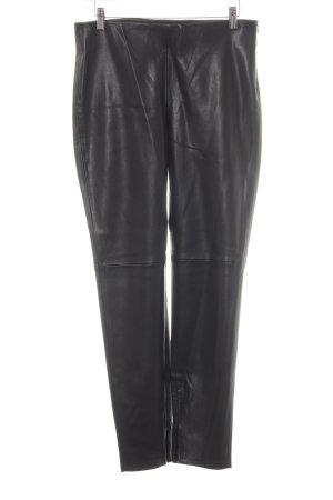 Zara Basic Regenpijpbroek zwart casual uitstraling