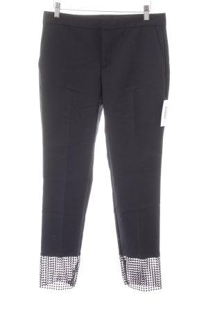 Zara Basic Röhrenhose schwarz minimalistischer Stil