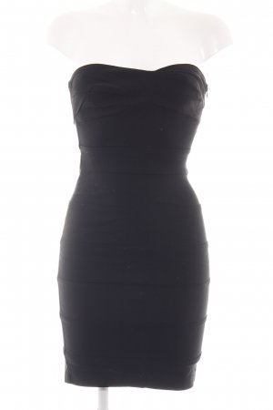 Zara Basic Tube Dress black elegant