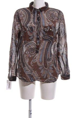 Zara Basic Slip-over blouse volledige print elegant