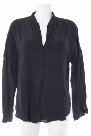 Zara Basic Slip-over blouse zwart casual uitstraling