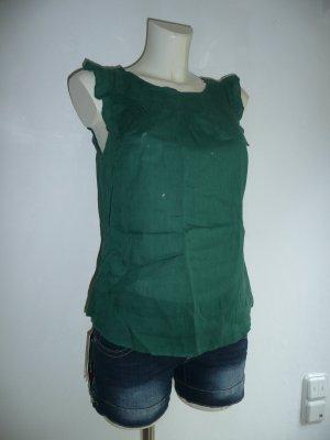 Zara Basic schönes Blusen Top in Grün Gr M 36-38