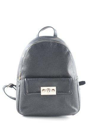 Zara Basic Schulrucksack schwarz schlichter Stil
