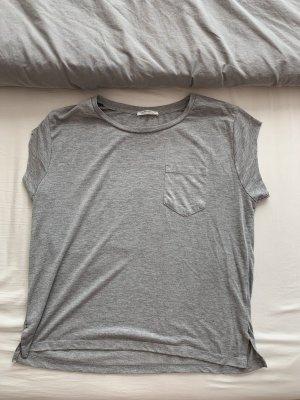 ZARA Basic Shirt grau