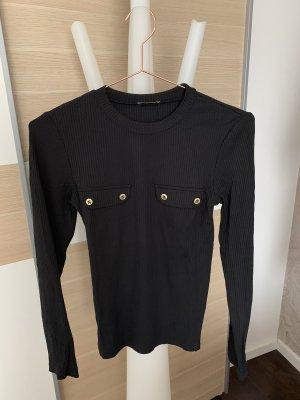 Zara Basic Shirt mit Taschen