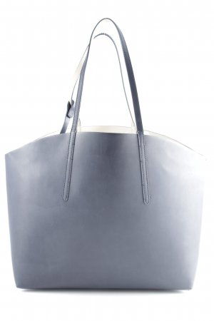 Zara Basic Shopper dunkelblau Casual-Look