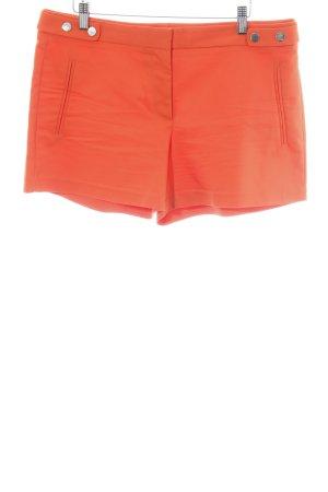 Zara Basic Shorts rot-hellorange Casual-Look