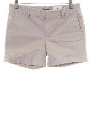Zara Basic Shorts hellbeige Casual-Look