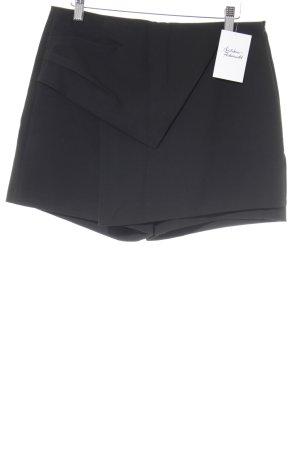 Zara Basic Shorts schwarz Business-Look