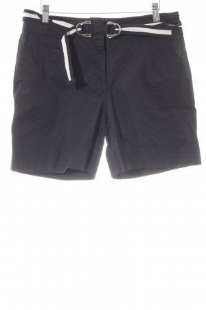 Zara Basic Short zwart-wit casual uitstraling