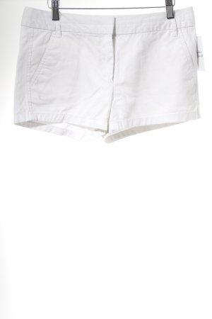 Zara Basic Shorts weiß Casual-Look