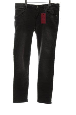 Zara Basic Skinny Jeans schwarz Casual-Look