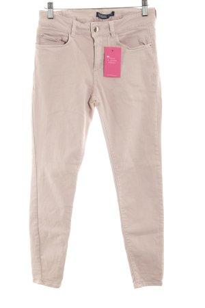 Zara Basic Skinny Jeans blasslila Casual-Look