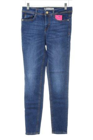Zara Basic Skinny Jeans blau schlichter Stil