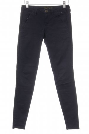 Zara Basic Jeans skinny bleu foncé style décontracté
