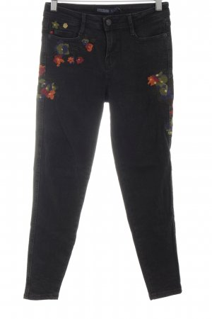 Zara Basic Skinny Jeans mehrfarbig Casual-Look