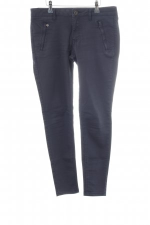 Zara Basic Skinny Jeans neonblau Casual-Look