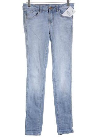 Zara Basic Skinny Jeans himmelblau Casual-Look