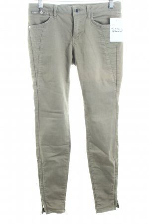 Zara Basic Skinny Jeans khaki Casual-Look