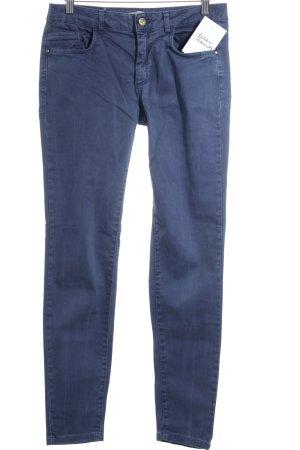 Zara Basic Skinny Jeans kornblumenblau Casual-Look