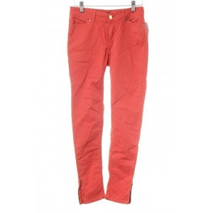 Zara Basic Skinny Jeans rot Street-Fashion-Look