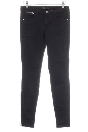Zara Basic Skinny Jeans schwarz Elegant