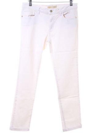Zara Basic Skinny Jeans wollweiß Casual-Look